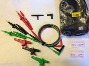 GS38 3-Wire Ultimate Test Leads & Probes Set, Fluke 17th Edition testers
